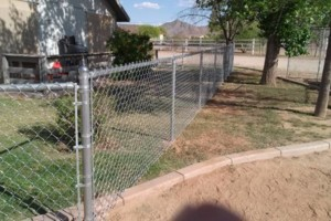 Photo #7: WT Fencing LLC. Dog runs, chain link, wooden fence and more!