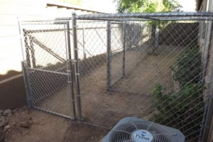 Photo #4: WT Fencing LLC. Dog runs, chain link, wooden fence and more!