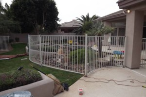 Photo #1: WT Fencing LLC. Dog runs, chain link, wooden fence and more!