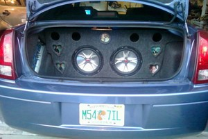 Photo #1: Robert Brandon car audio Installation