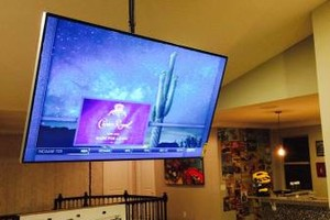Photo #4: Your TV Installed for $65. Mount Brackets & Wires Hidden Included