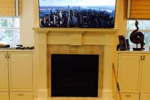 Photo #3: Your TV Installed for $65. Mount Brackets & Wires Hidden Included