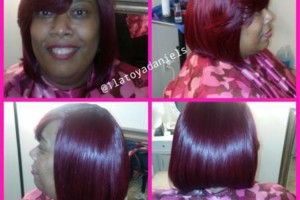 Photo #5: Sew in, Quick weave, Relaxers & so much more!