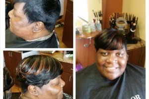 Photo #3: Sew in, Quick weave, Relaxers & so much more!