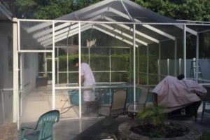 Photo #16: Mid-State Aluminum. Window Replacement & Pool Re-Screening