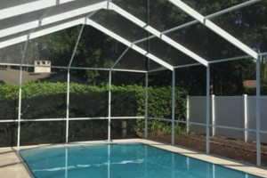 Photo #9: Mid-State Aluminum. Window Replacement & Pool Re-Screening