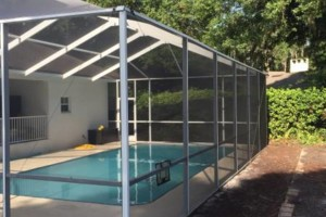 Photo #8: Mid-State Aluminum. Window Replacement & Pool Re-Screening