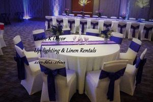 Photo #3: WEUP-LIGHTING ALL COLOR. PHOTOGRAPHY. DECORATIONS. TABLE LINEN...
