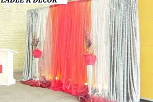 Photo #1: WEUP-LIGHTING ALL COLOR. PHOTOGRAPHY. DECORATIONS. TABLE LINEN...
