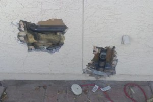 Photo #4: AFFORDABLE RELIABLE STUCCO REPAIR