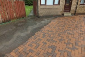 Photo #3: Pressure washing. $50 special 2 car driveway. Call today for your free estimate!...