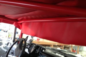 Photo #1: Auto upholstery. Vinyls and Conv. Tops