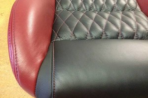 Photo #9: Auto upholstery. Vinyls and Conv. Tops