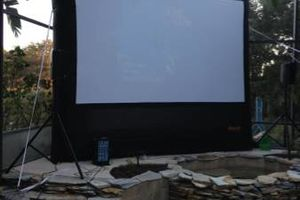 Photo #11: Have a backyard movie night this weekend!