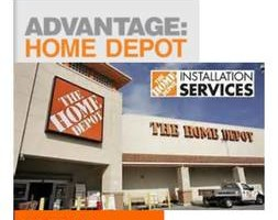 Photo #1: Home Depot, Attic, Windows, Doors, Roofing, Seamless Gutters, Siding