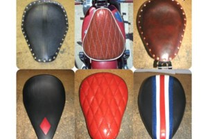 Photo #3: Simon Designs Custom Motorcycle Seats