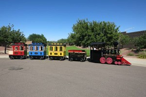 Photo #1: Electric trackless train