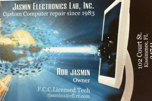 Photo #1: JASMIN VINTAGE ELECTRONICS & COMPUTER REPAIR SINCE 1983