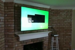 Photo #5: Home theater, TV installation / Wall mount