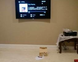 Photo #4: Home theater, TV installation / Wall mount