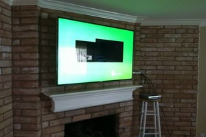 Photo #2: Home theater, TV installation / Wall mount
