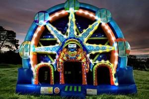 Photo #1: Bounce house $175