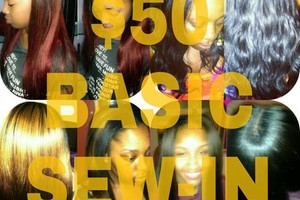 Photo #5: $50 BASIC SEW-IN