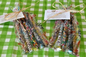Photo #2: Sassy Chocolate Covered Pretzels - Favors