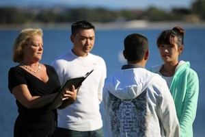 Photo #5: Wedding Officiant ($150).  Weddings by Tylene