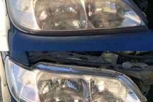 Photo #1: $34.99 SPECIAL Quality Mobile Headlight Restoration Service