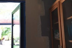 Photo #2: Drywall Repairs Done Fast!!