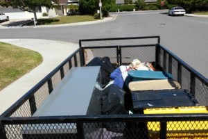 Photo #2: AFFORDABLE item MOVING and junk HAULING
