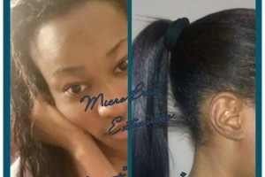 Photo #16: I-TIP/U-TIP EXTENSIONS. BOSS QUEEN BEAUTY BOUTIQUE. TRAVELING SALON