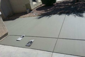 Photo #2: CONCRETE SOLIS - SALT FINISH, EXPOSED AGGREGATED...