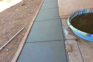 Photo #8: CONCRETE SOLIS - SALT FINISH, EXPOSED AGGREGATED...