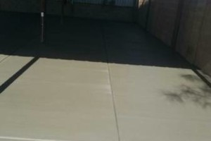 Photo #20: CONCRETE SOLIS - SALT FINISH, EXPOSED AGGREGATED...