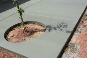 Photo #16: CONCRETE SOLIS - SALT FINISH, EXPOSED AGGREGATED...