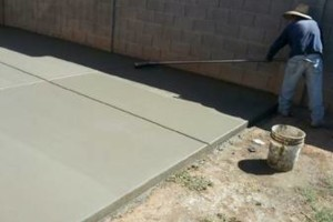 Photo #19: CONCRETE SOLIS - SALT FINISH, EXPOSED AGGREGATED...