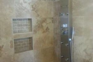 Photo #1: Kitchen and Bath Remodeling, Custom Showers, Backsplashes, BBQ - Tile Installation... Gilbert, AZ