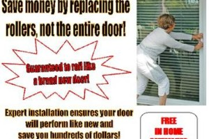 Photo #1: SLIDING DOOR REPAIR - SAVE!