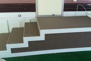Photo #3: Carpet and vinyl installation. Reasonable prices!!!!