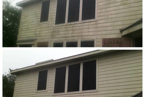 Photo #4: Pressure washing - cleaning driveways and houses $85-$145