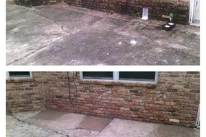 Photo #3: Pressure washing - cleaning driveways and houses $85-$145
