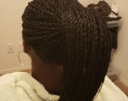 Photo #15: All African Braiding, Senegalese Twist, Singles braids, crochet braids.