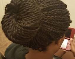 Photo #14: All African Braiding, Senegalese Twist, Singles braids, crochet braids.