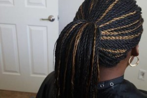 Photo #10: All African Braiding, Senegalese Twist, Singles braids, crochet braids.
