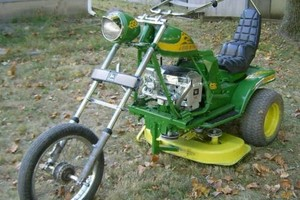 Photo #1: Repair Service - Lawnmower, riding mower, small engine (While You Wait)