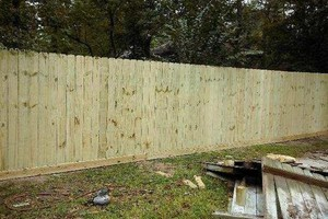 Photo #2: Privacy fences and more! Affordable prices, friendly faces