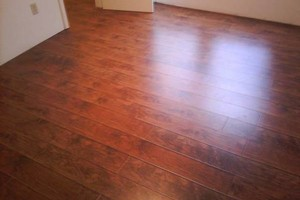 Photo #1: PERGO WOOD FLOORING INSTALLATION