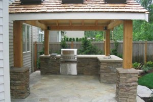 Photo #9: Block fence, BBQ, Stucco, Pavers, Fire pit, Chimneys